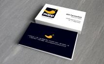 criar um elegante cartão de visitas